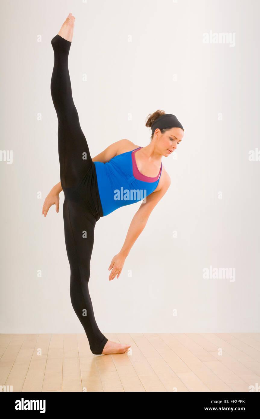 Female ballet dancer Stock Photo