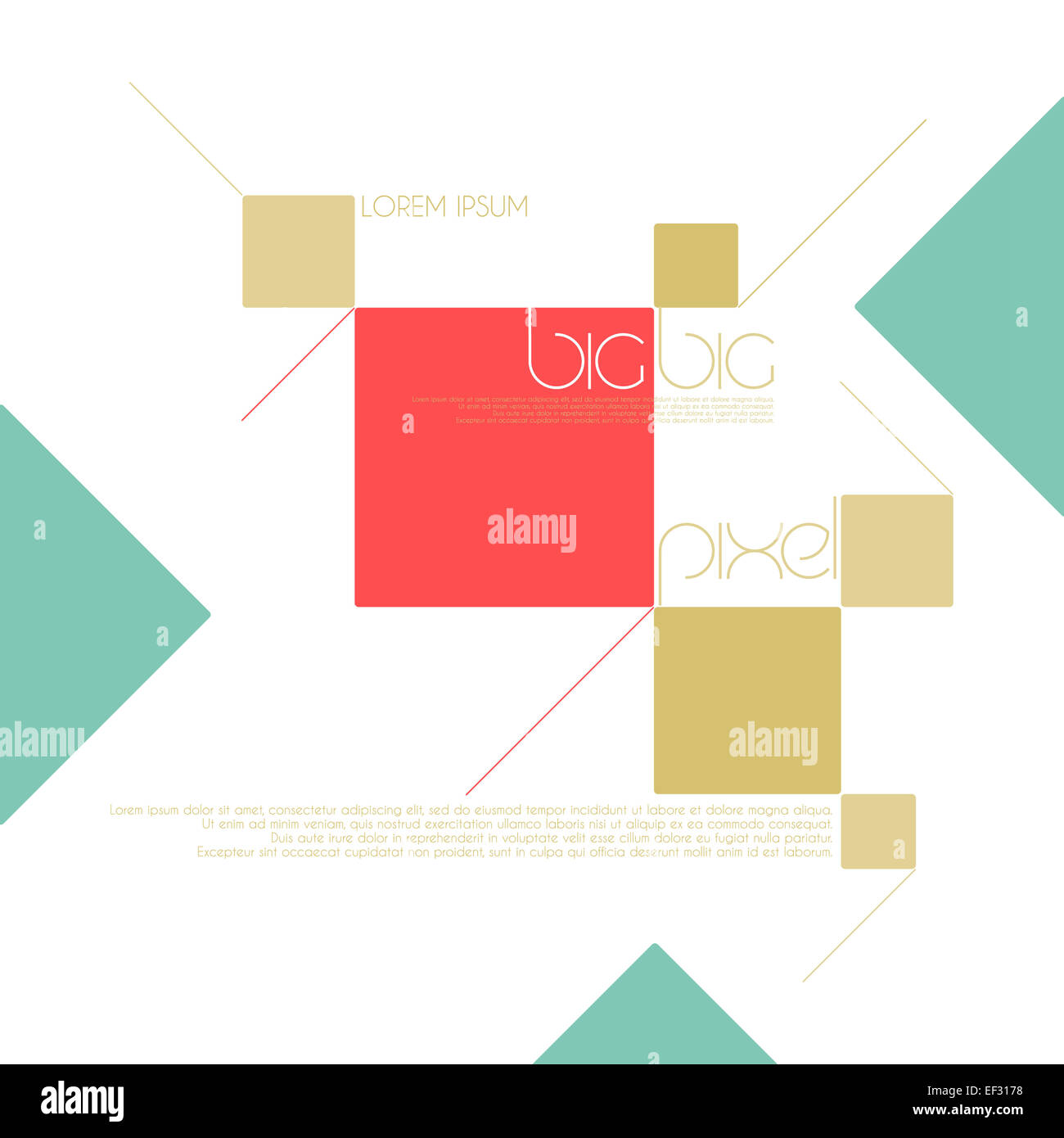 abstract, geometric background with colorful frames. graphic web ...