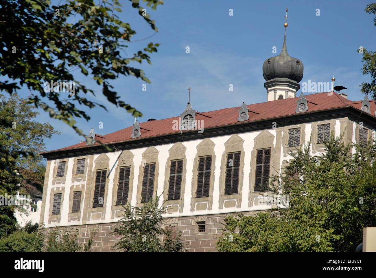Hall in Tirol, Sommerhaus der Stiftsdamen - Stock Image
