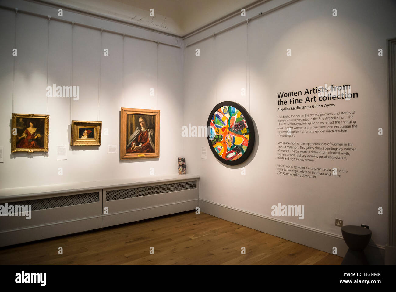 Women Artists, Brighton Museum & Art Gallery, Brighton, East Sussex, England, Uk Stock Photo