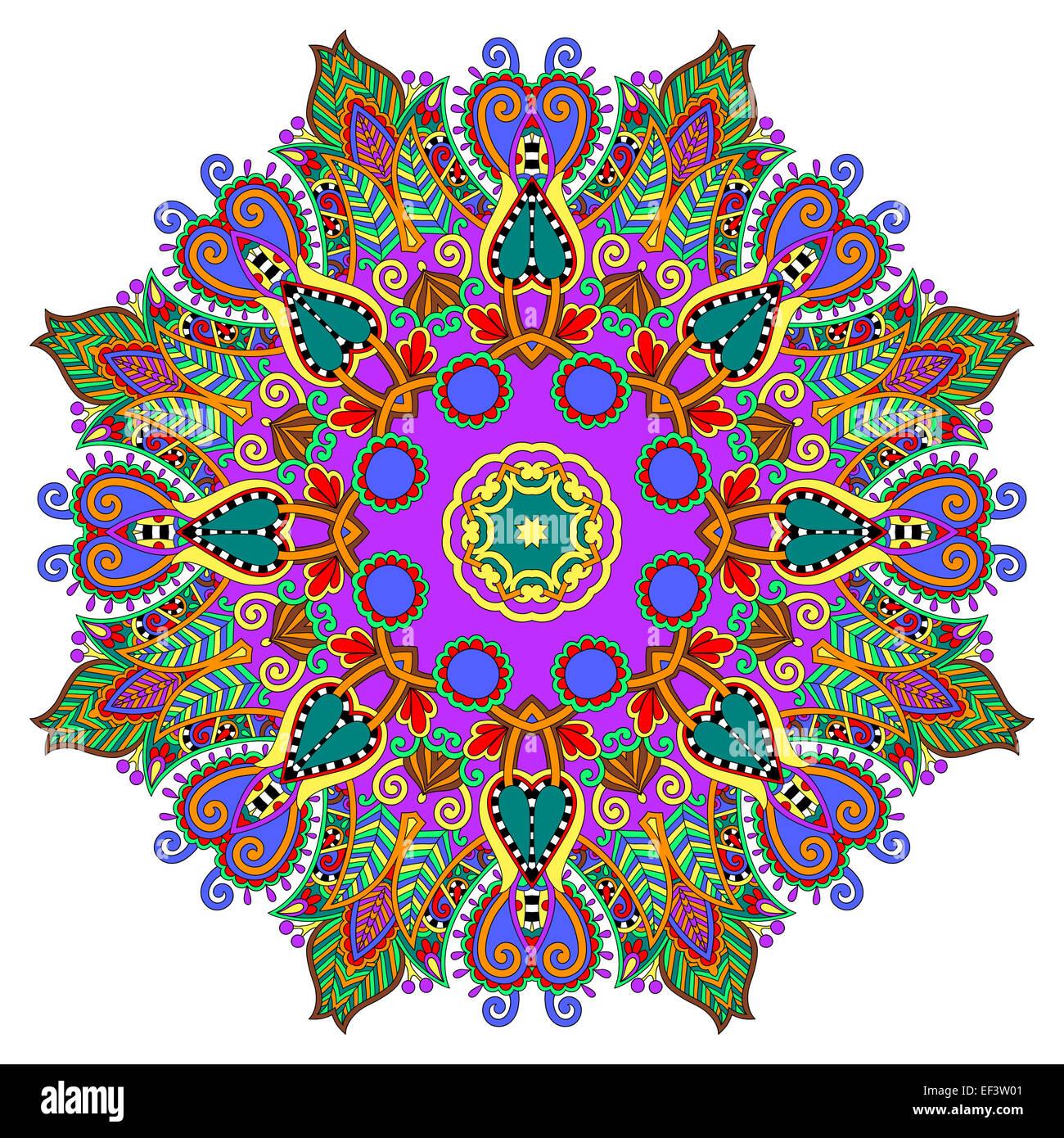 Circle decorative spiritual indian symbol of lotus flower stock circle decorative spiritual indian symbol of lotus flower mightylinksfo