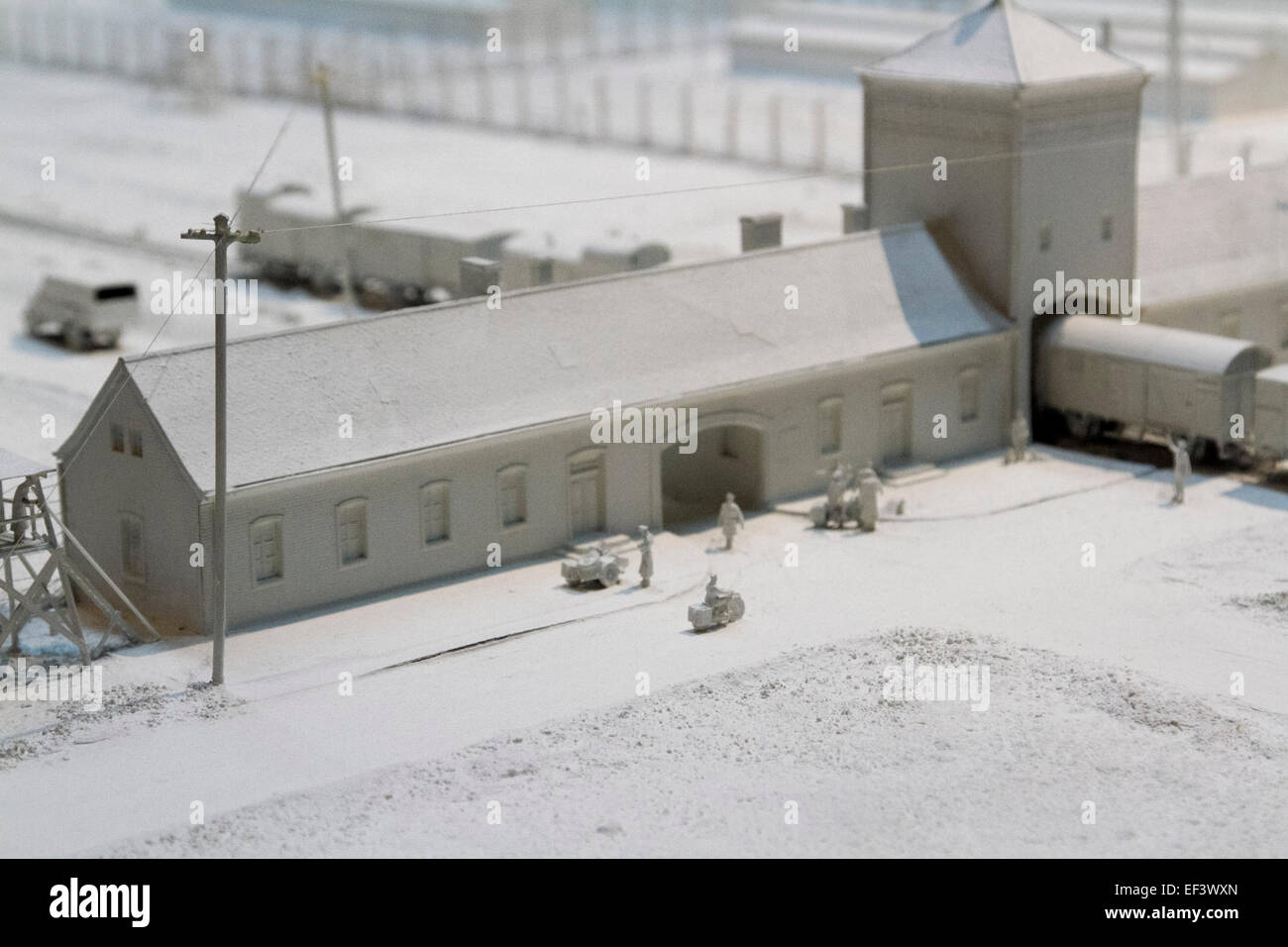 London uk 26th january 2015 a replica model created of for Replica mobel england