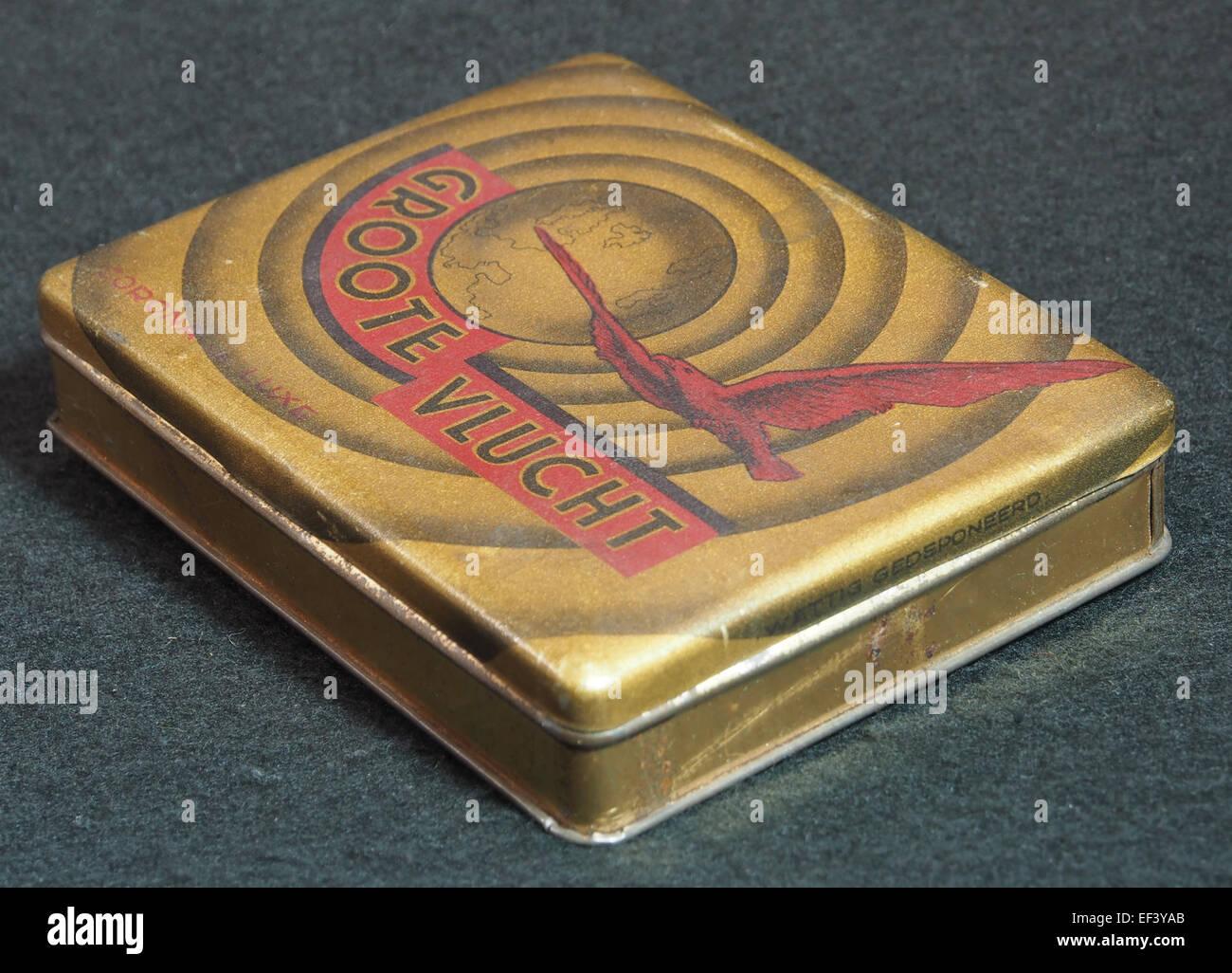 Groote Vlucht, Coroa de Luxe sigarenblikje, foto 3 - Stock Image