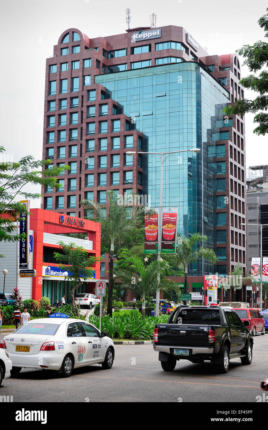 Cebu City Business District Philippines - Stock Image