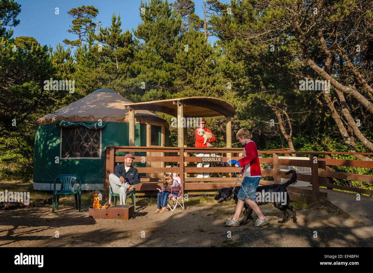 South Beach State Park Yurts