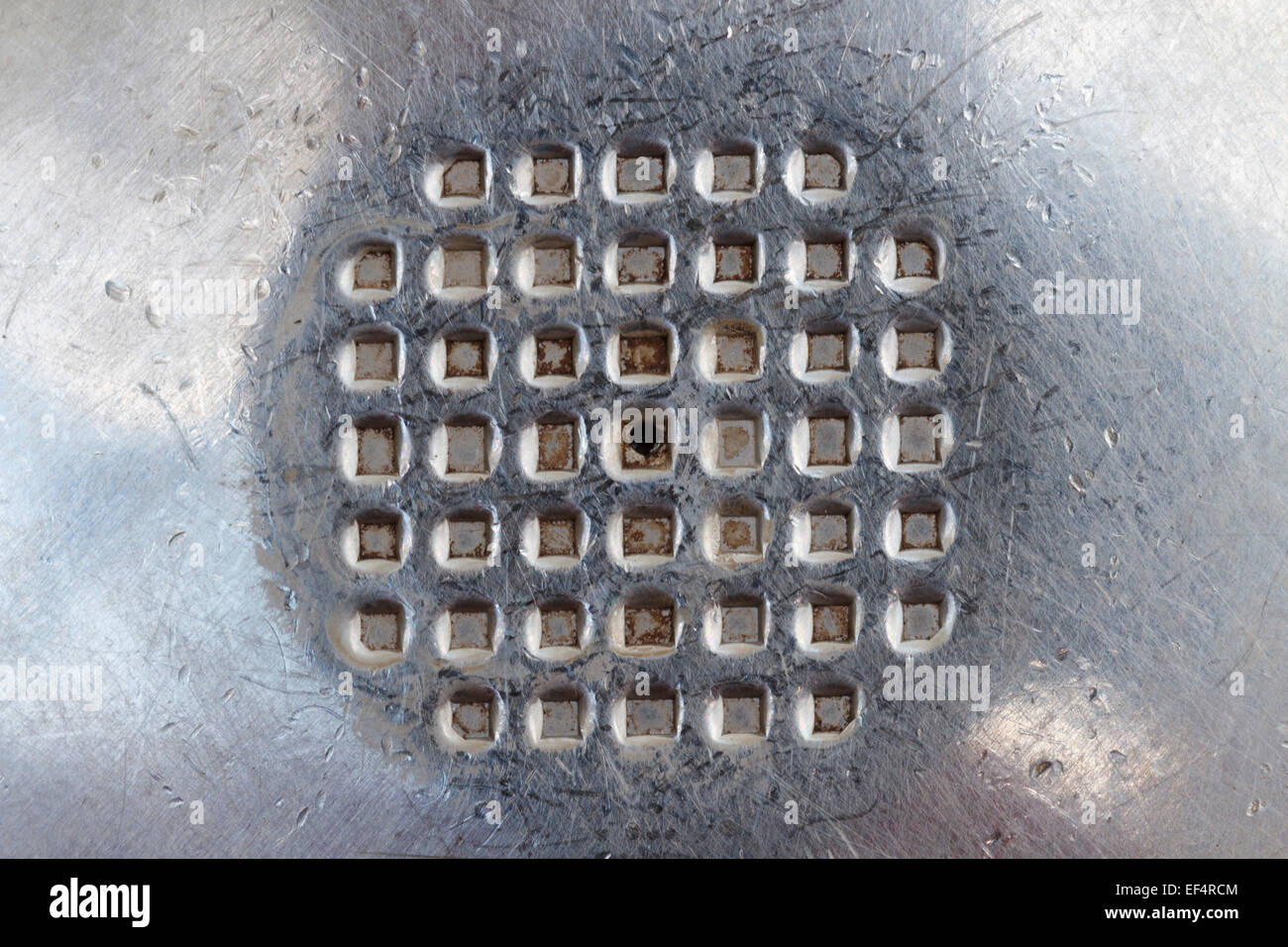 metal texture, abstract background - Stock Image