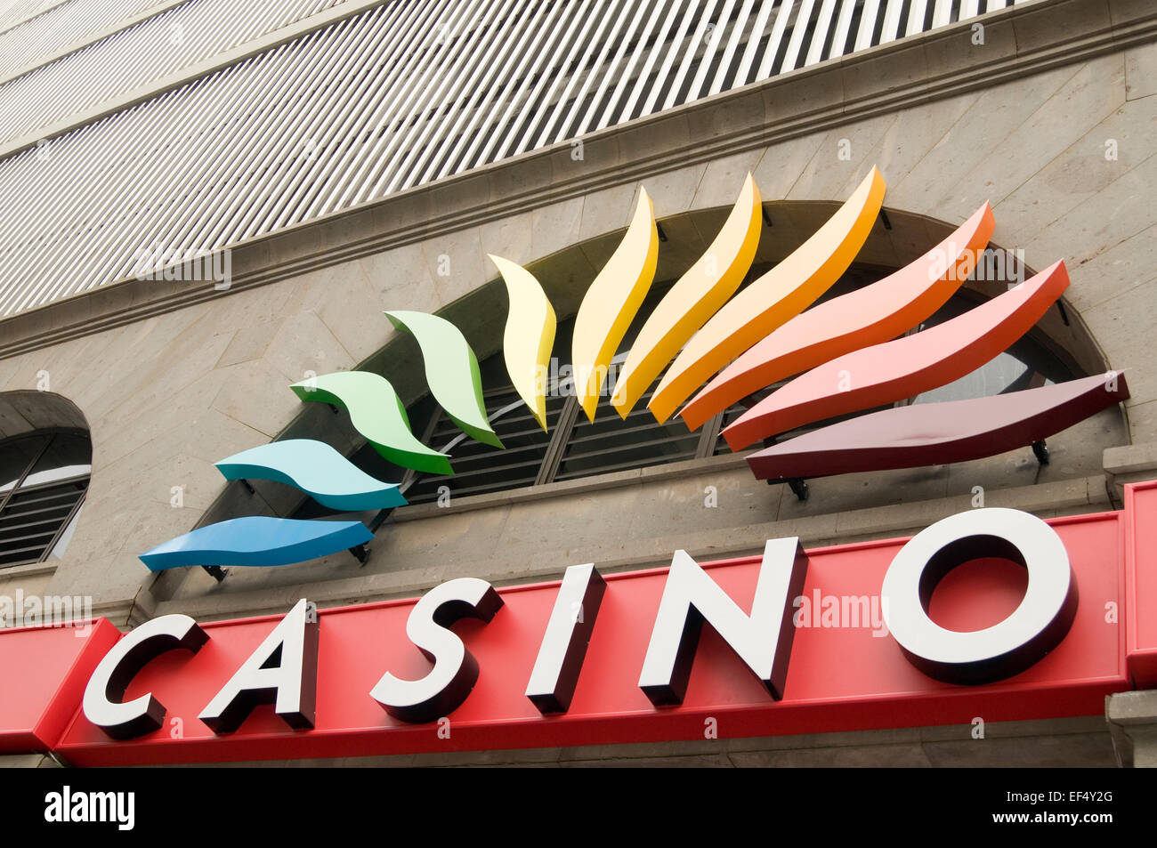 casino casinos gamble gambling gambler gamblers risk risks risky loss losses game games of chance odds - Stock Image