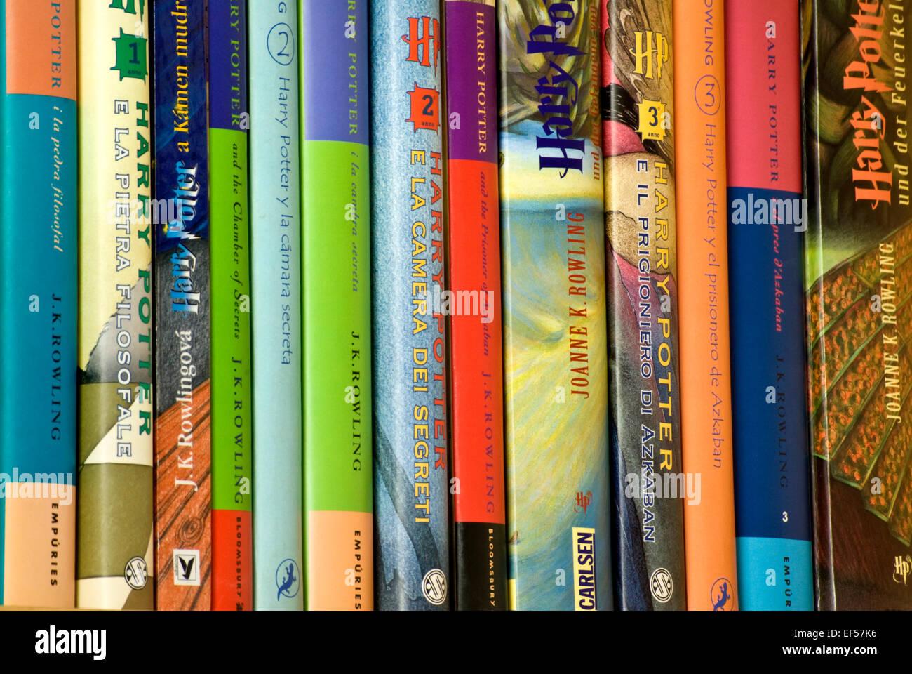 Translator Italian: J.K. Rowling's Harry Potter Books In Translation. Italian