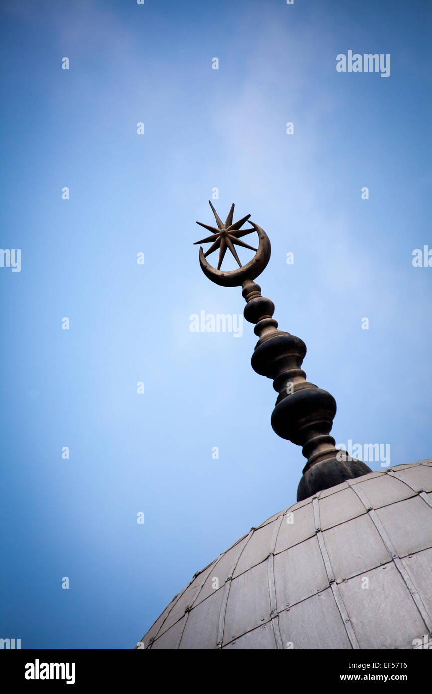 spire on building - Stock Image