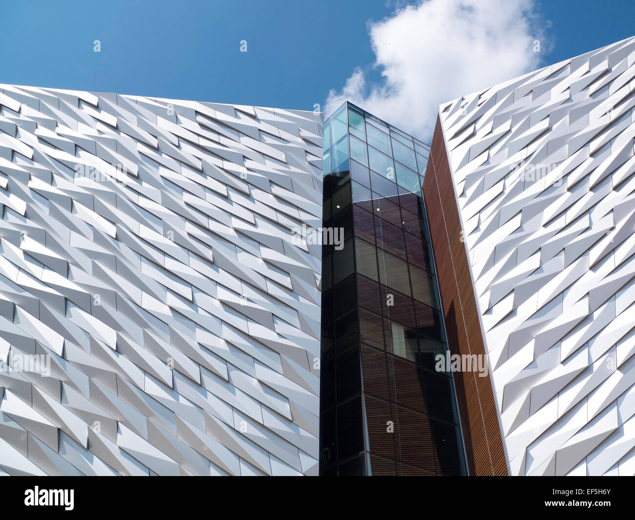 The Titanic museum Belfast Northern Ireland Stock Photo