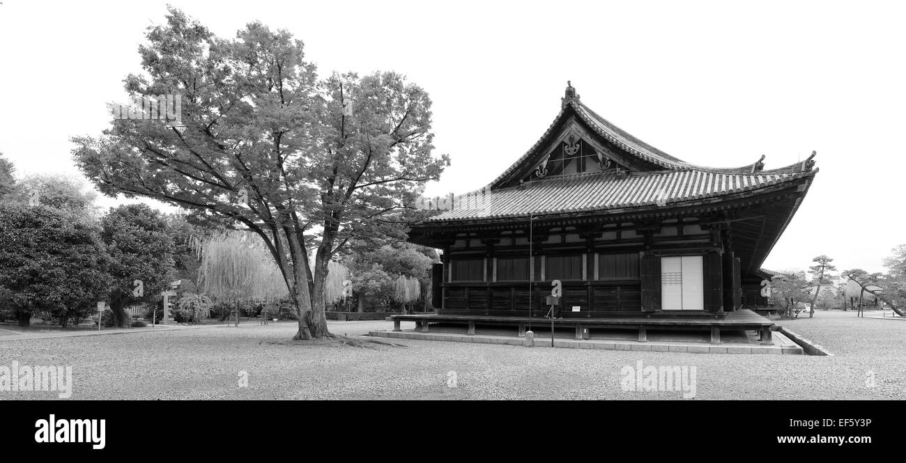 Kyoto japan black and white stock photos images alamy