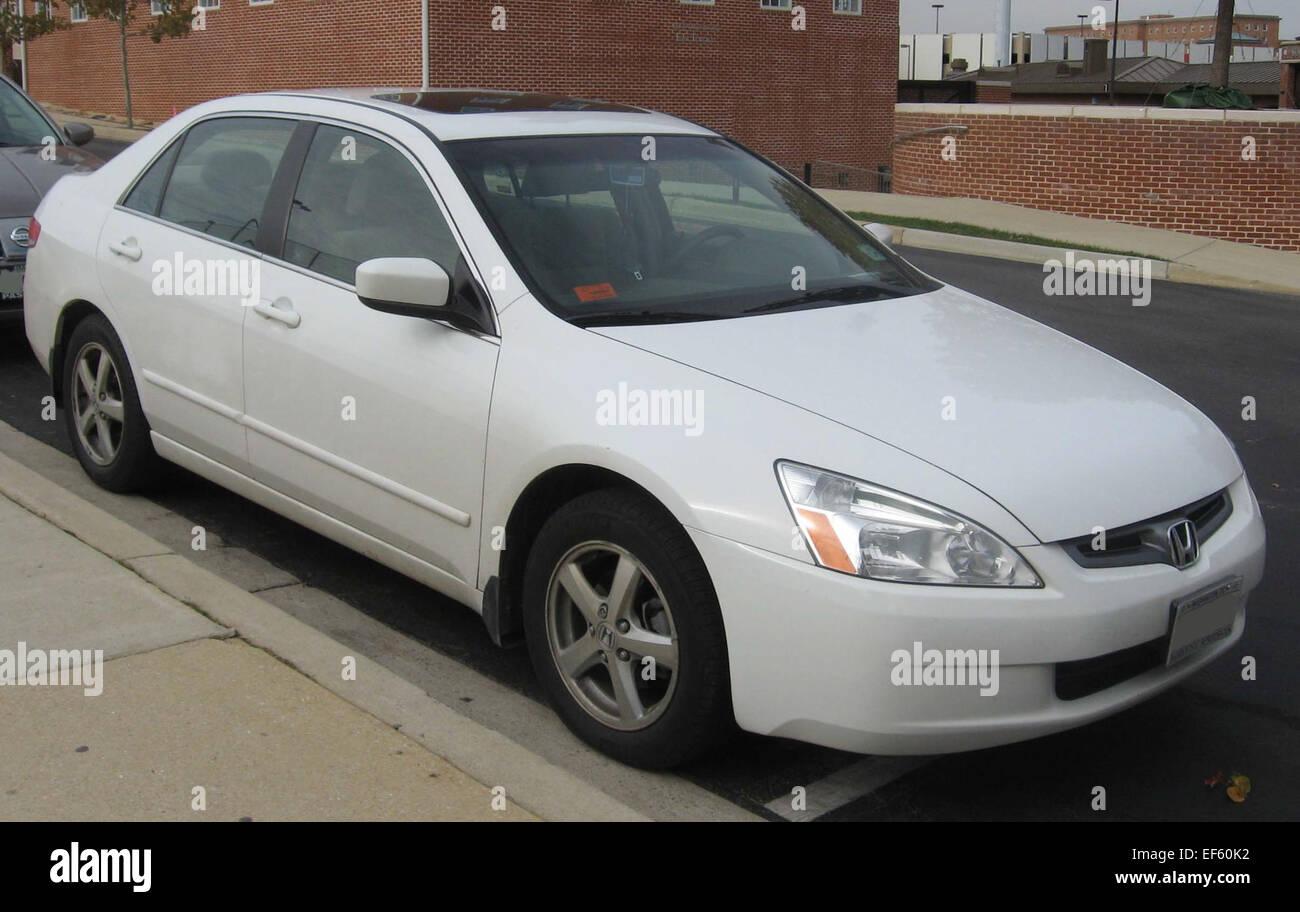 03 Honda Accord >> 03 04 Honda Accord Ex Stock Photo 78193558 Alamy