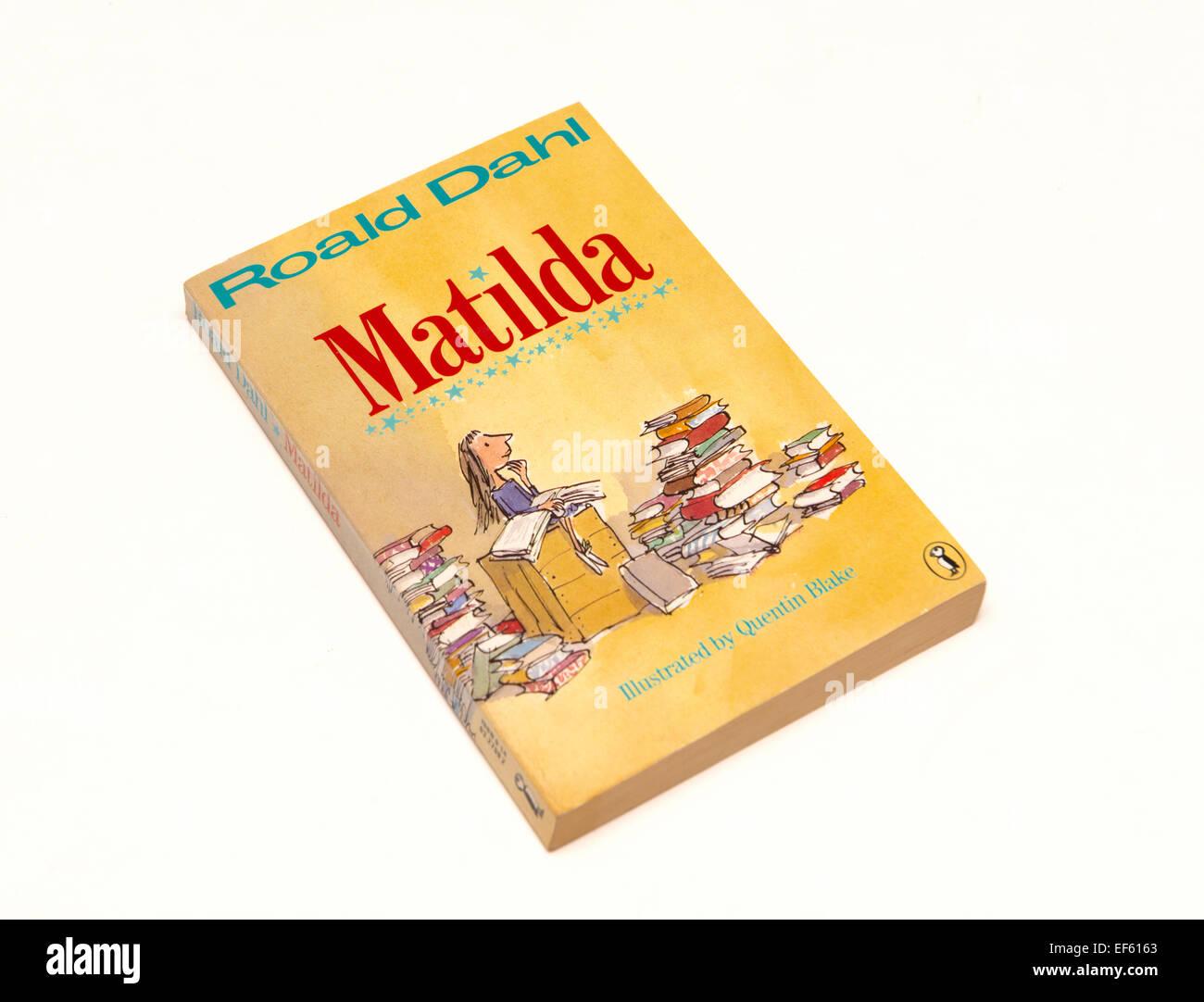 Matilda by Roald Dahl - Stock Image