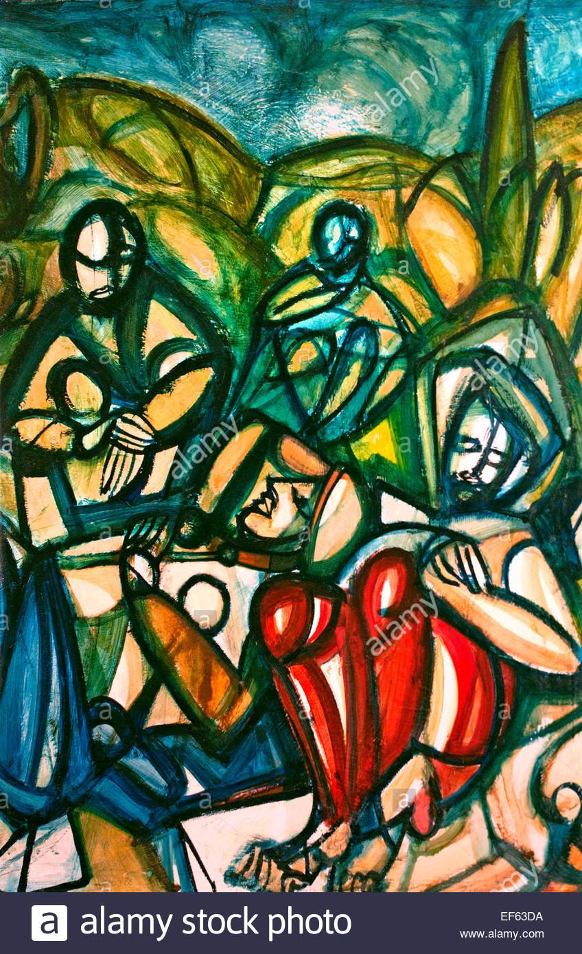 L'orto di Getsemani - The garden of Gethsemane 1947 ...