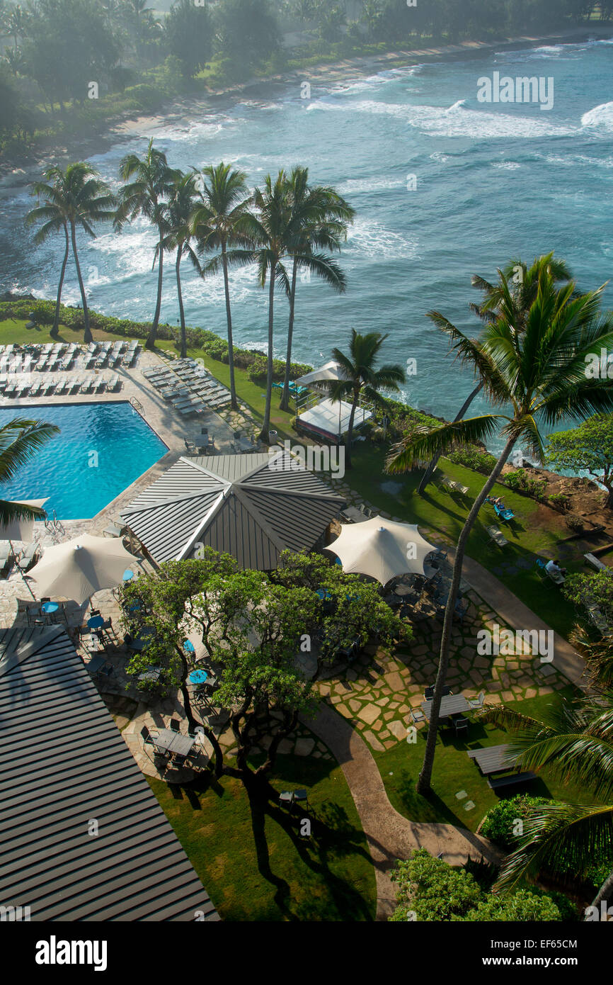 Turtle Bay Resort, North Shore, Oahu, Hawaii - Stock Image