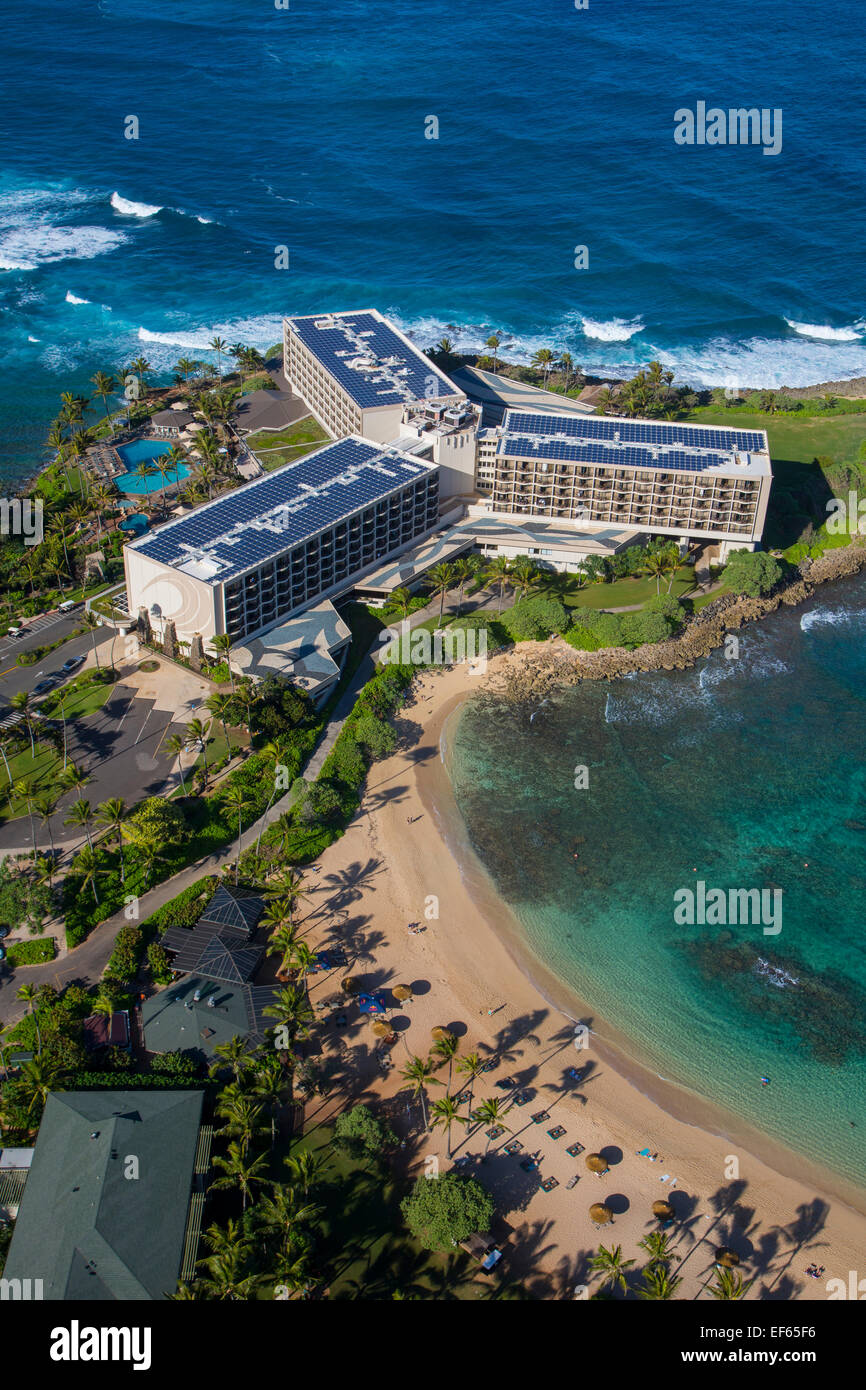 Turtle Bay, Resort, North Shore, Oahu, Hawaii - Stock Image