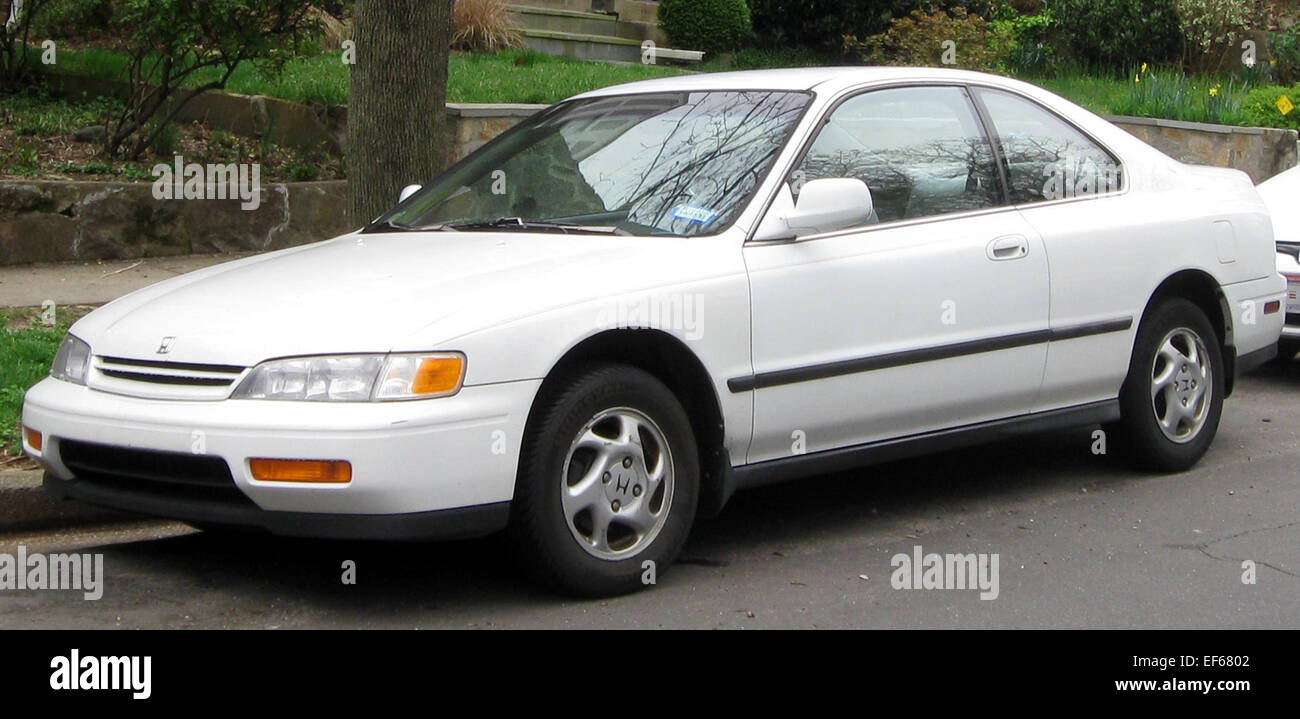 1994 1995 honda accord coupe 03 21 2012 stock photo for 03 honda accord coupe