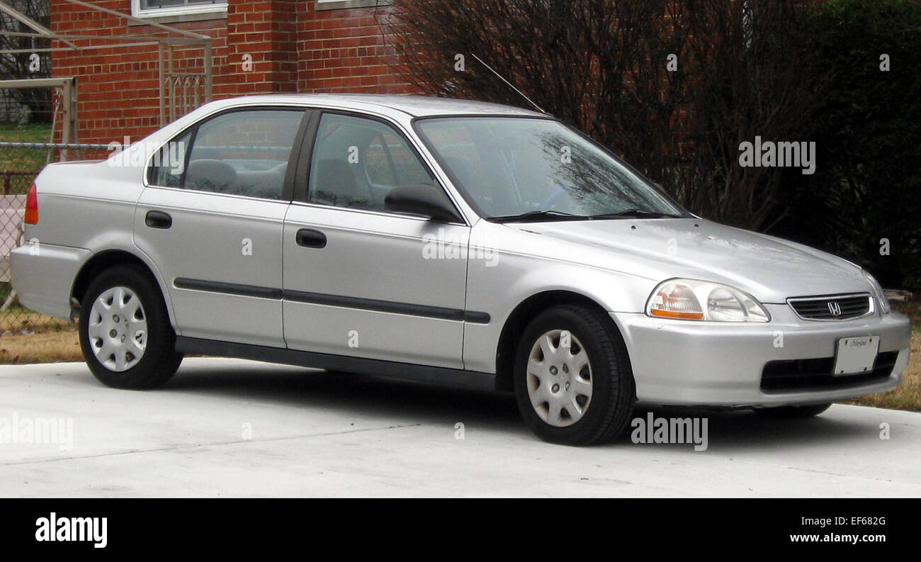 1996 1998 Honda Civic Sedan 12 14 2011 2   Stock Image
