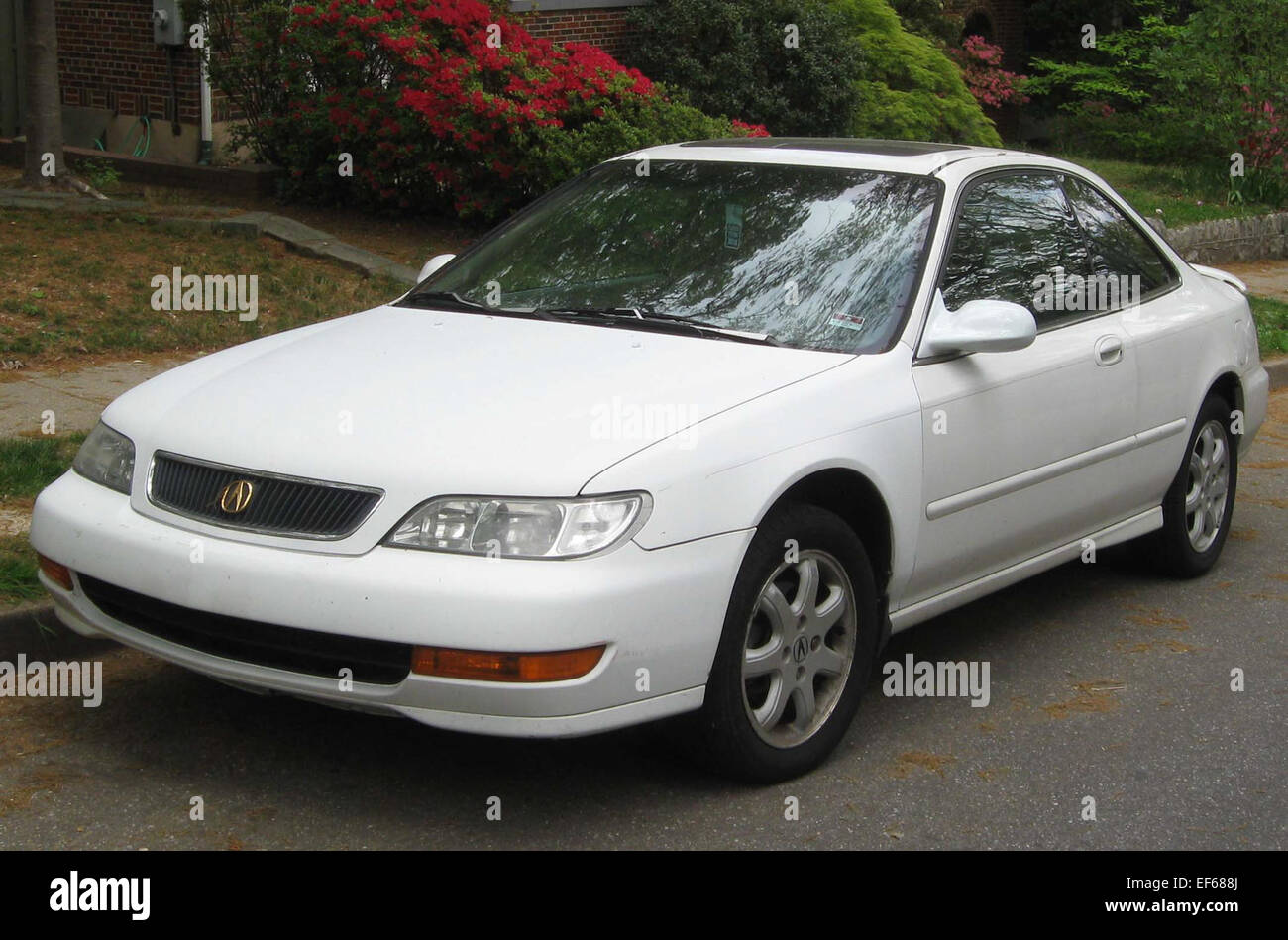 1998 1999 Acura CL    04 11 2012 2 - Stock Image