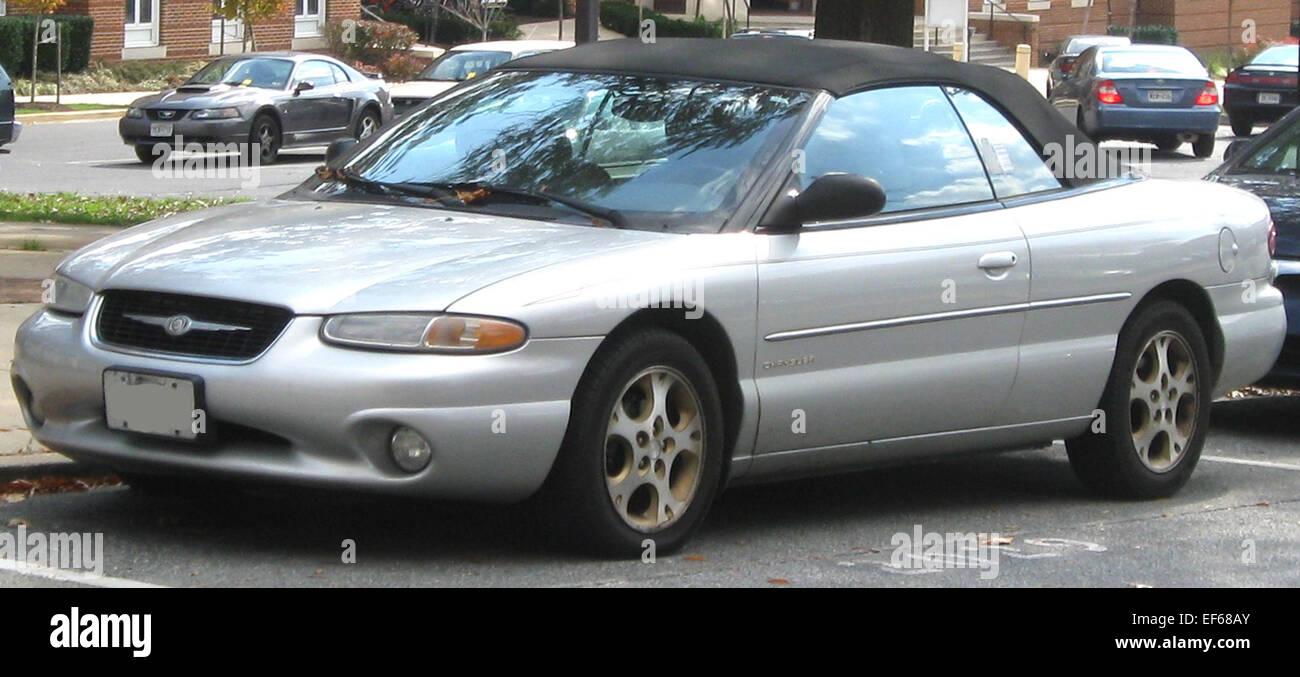 2000 chrysler sebring convertible
