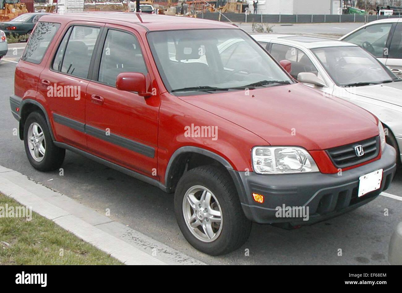 1st Honda CRV - Stock Image