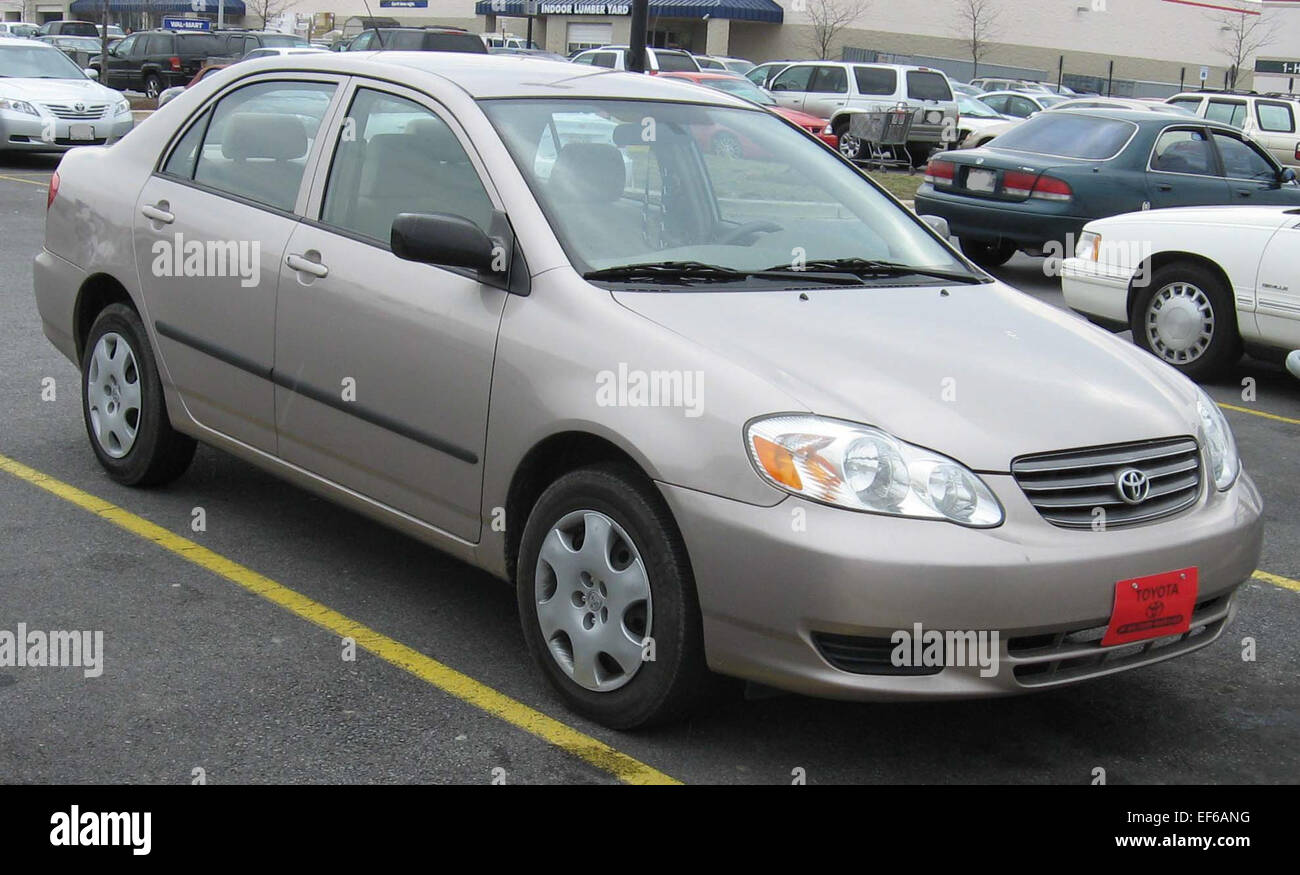 Kelebihan Toyota Corolla 2003 Spesifikasi