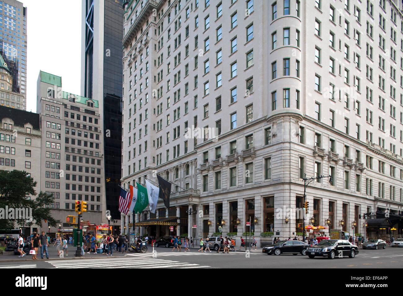 plaza hotel central park south and grand army plaza midtown stock photo 78201502 alamy. Black Bedroom Furniture Sets. Home Design Ideas