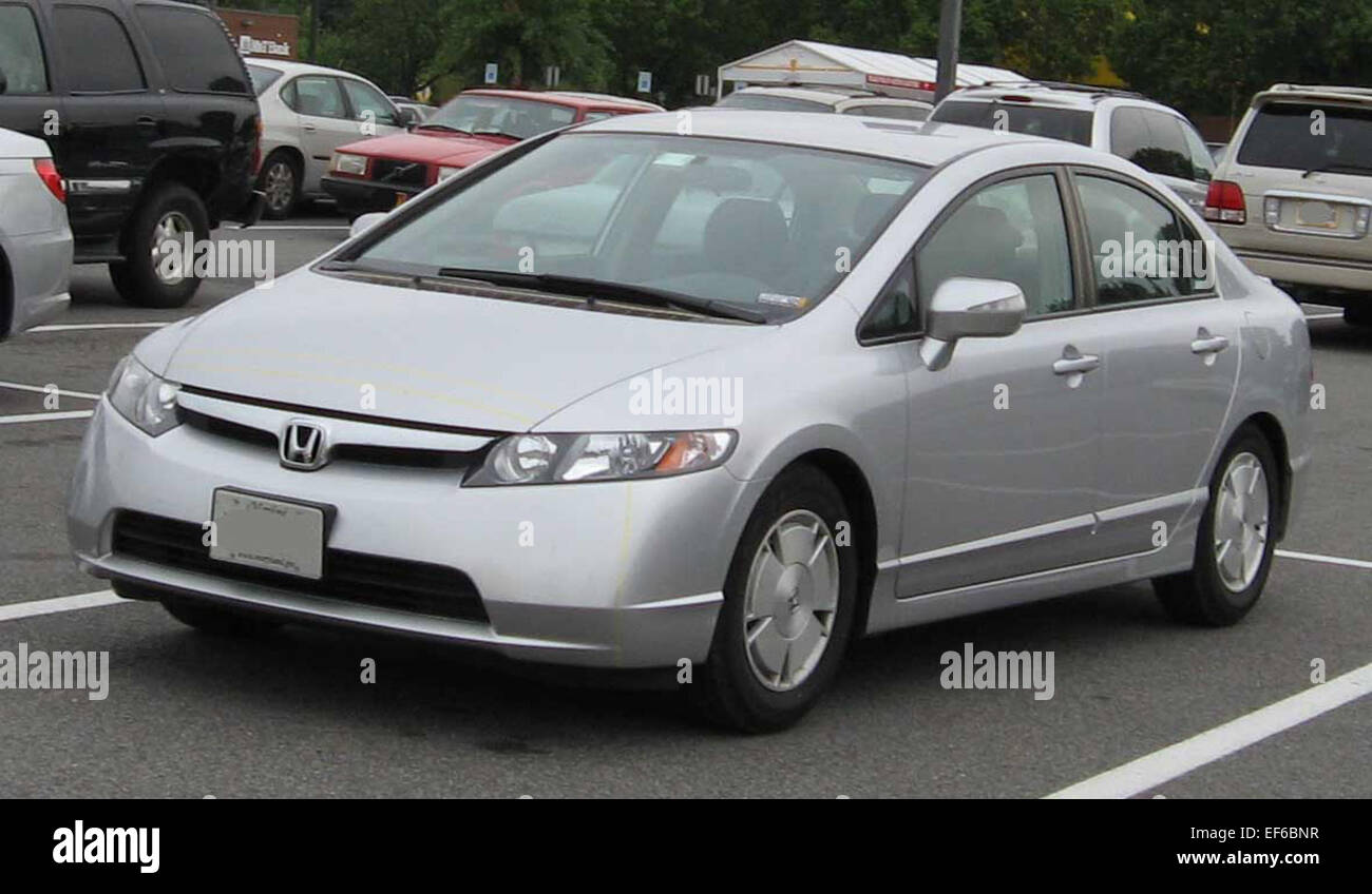 2006 07 Honda Civic Hybrid   Stock Image