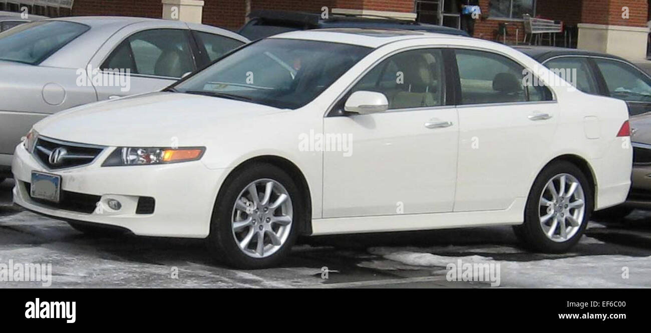 2007 Acura TSX Stock Photo: 78202432 - Alamy