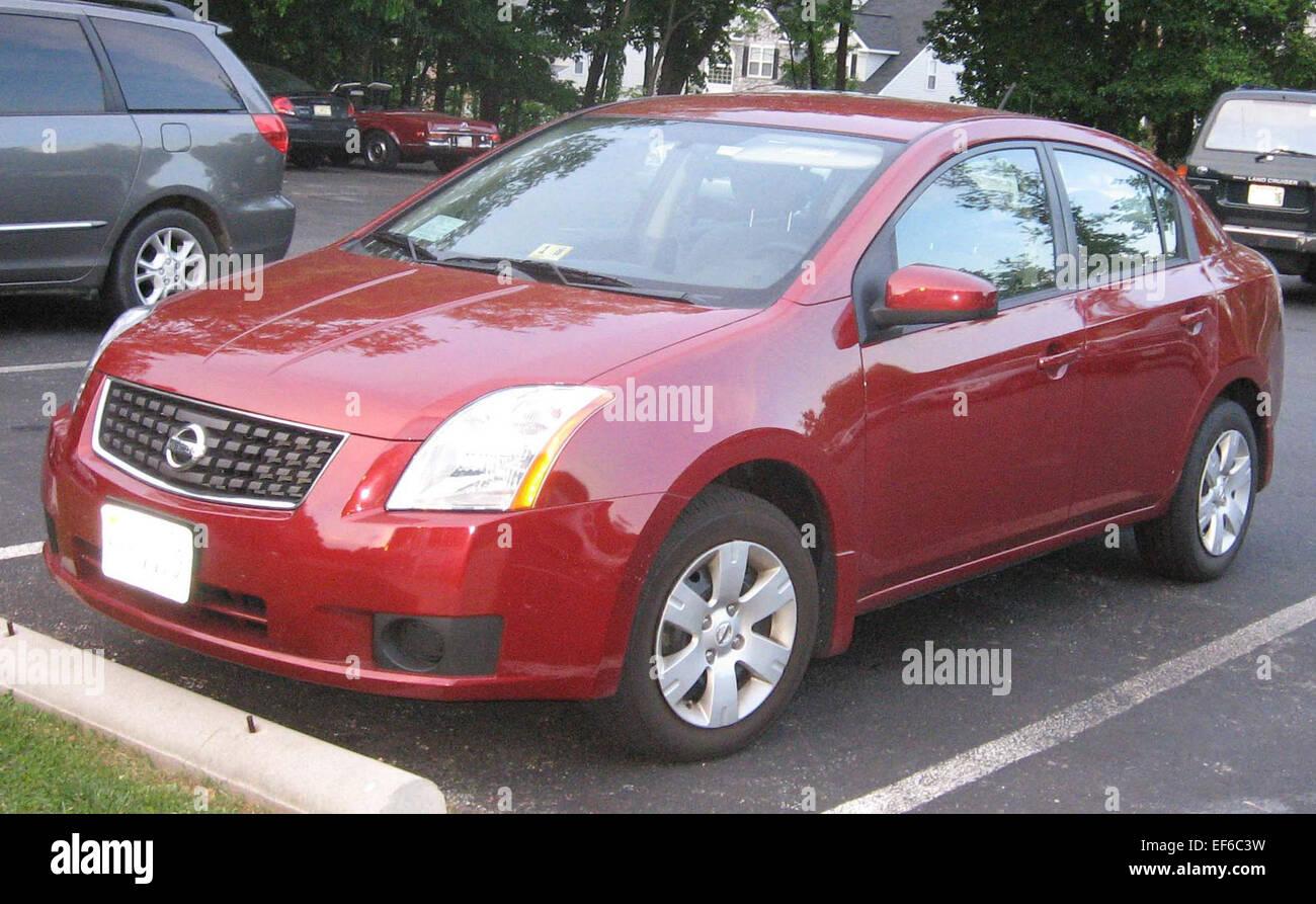 2007 Nissan Sentra Stock Photo: 78202541 - Alamy