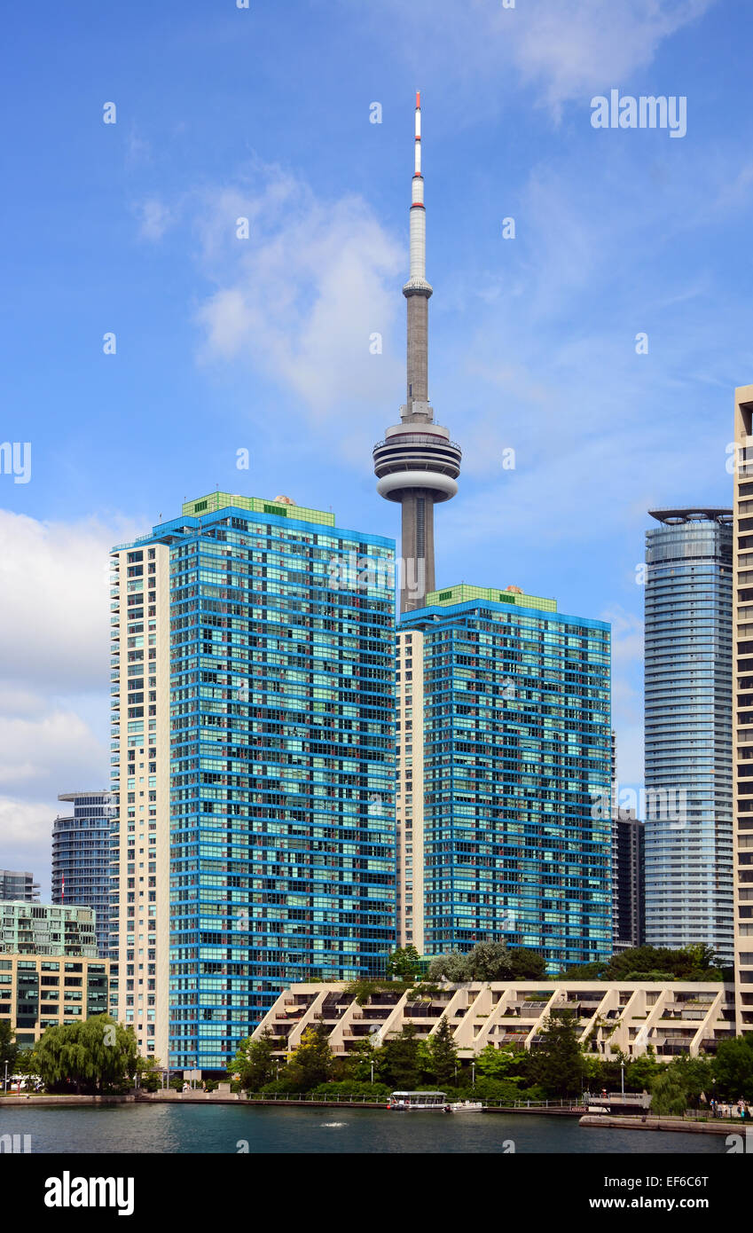 Condominium Buildings, Toronto, Canada - Stock Image