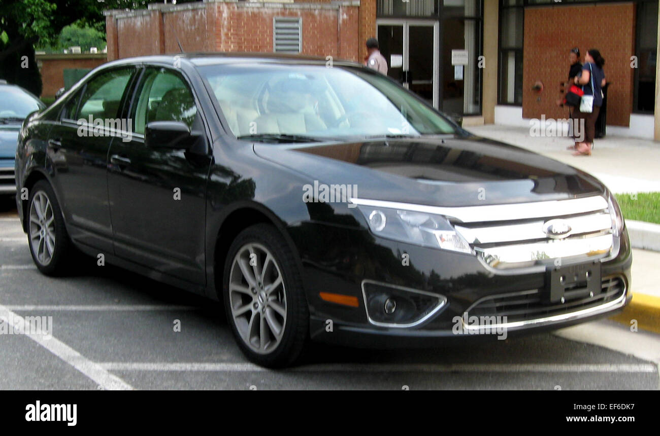 2010 ford fusion sel 1