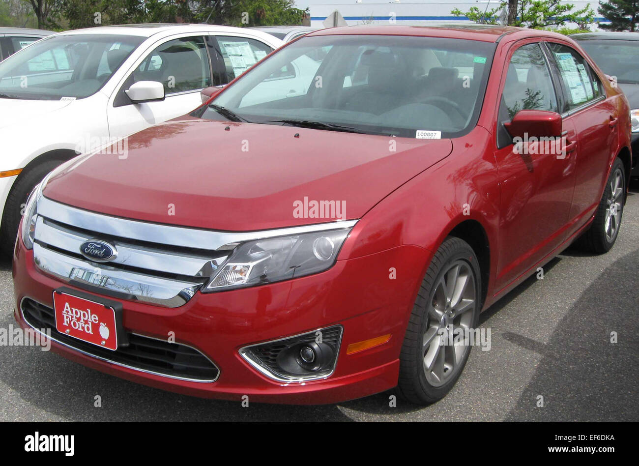2010 ford fusion sel 2