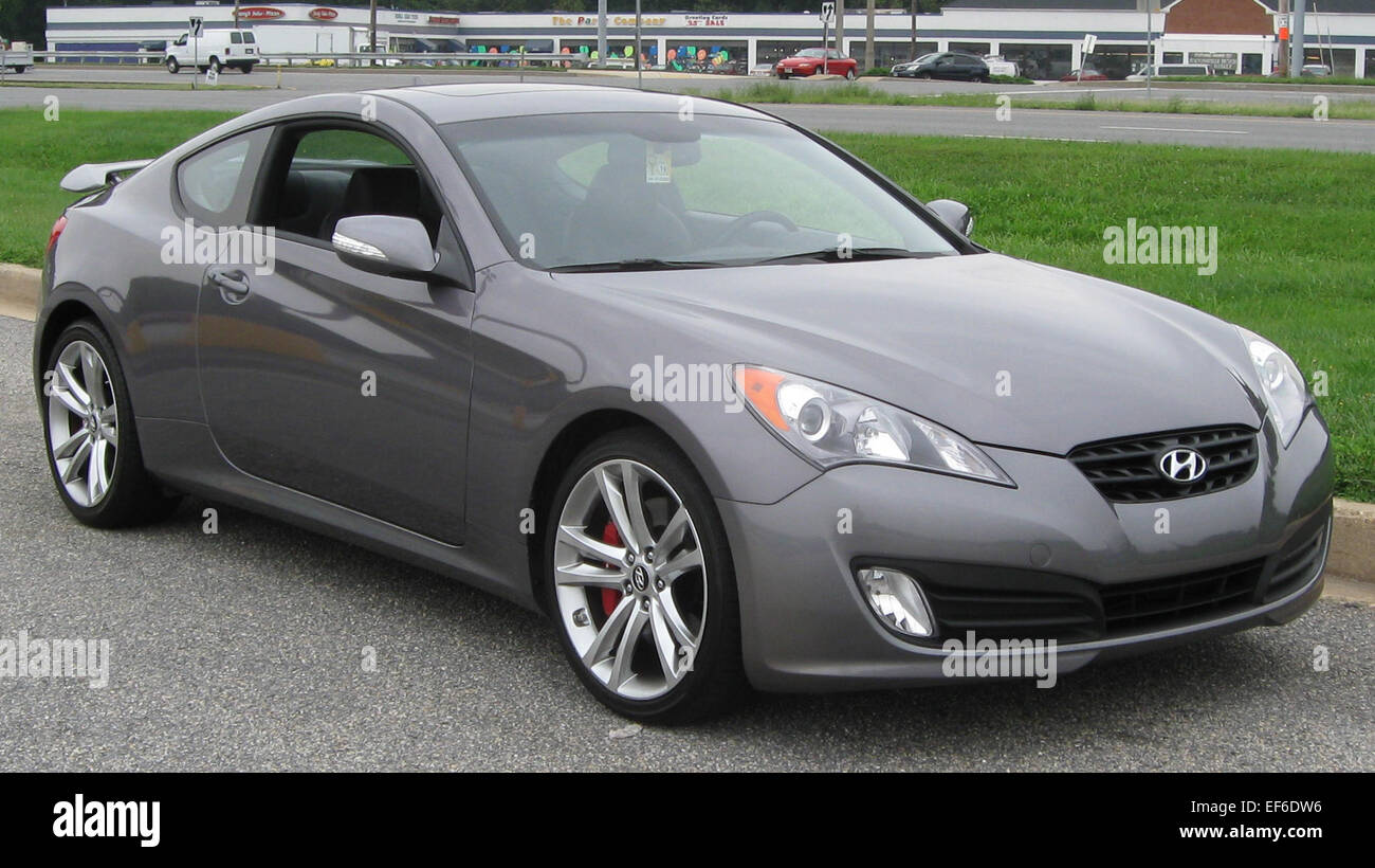 Marvelous 2010 Hyundai Genesis Coupe 1 08 28 2009
