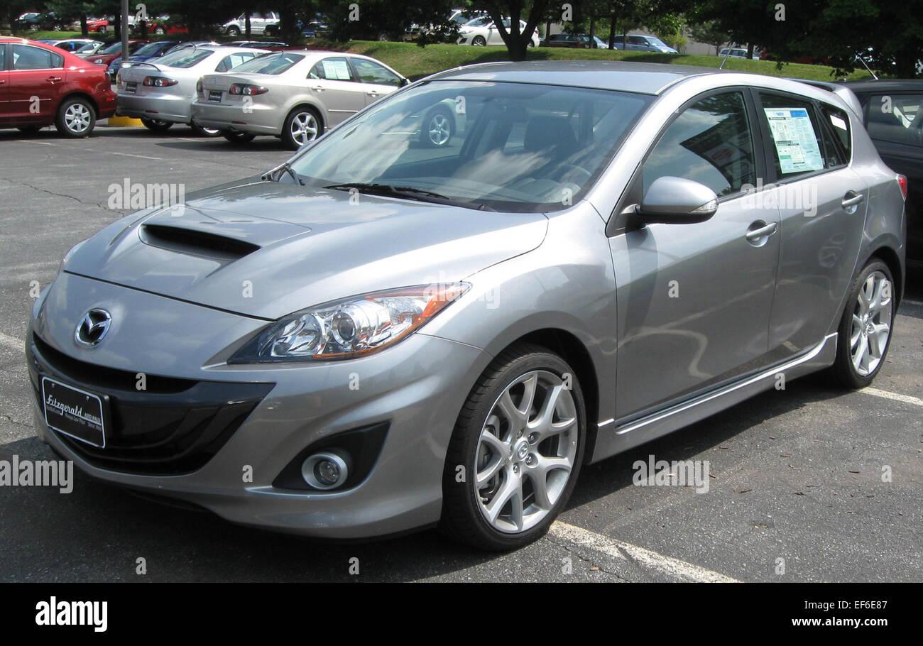 2010 MazdaSpeed 3 08 25 2009 Stock Photo: 78204231 - Alamy
