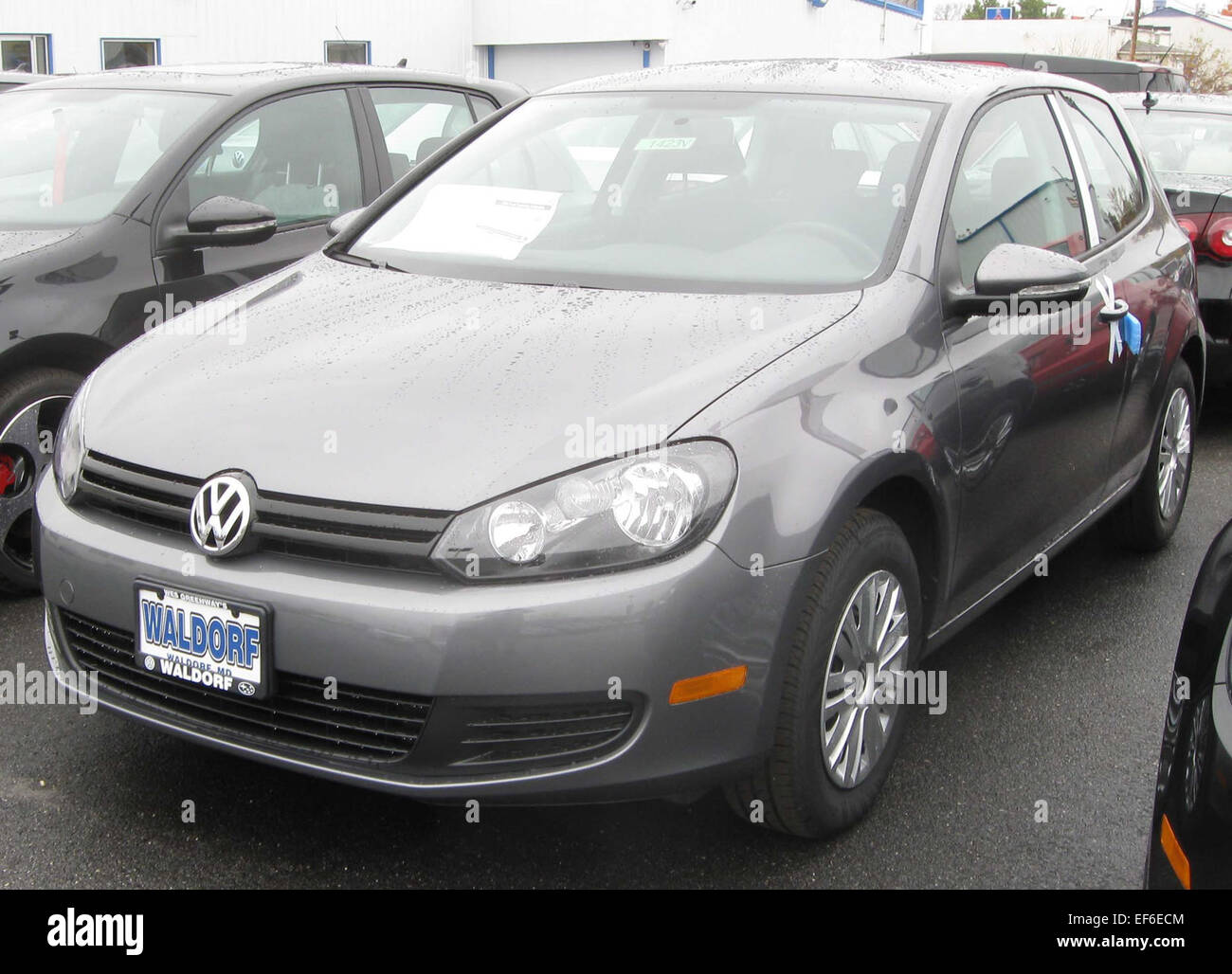 2010 Volkswagen Golf 2 Door 10 31 2009   Stock Image