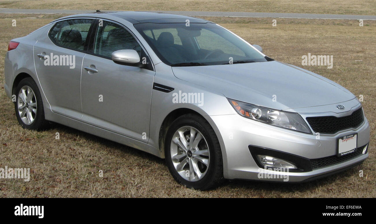 Kia Optima Stock Photos Images Alamy My 2011 Ex 02 26 Image