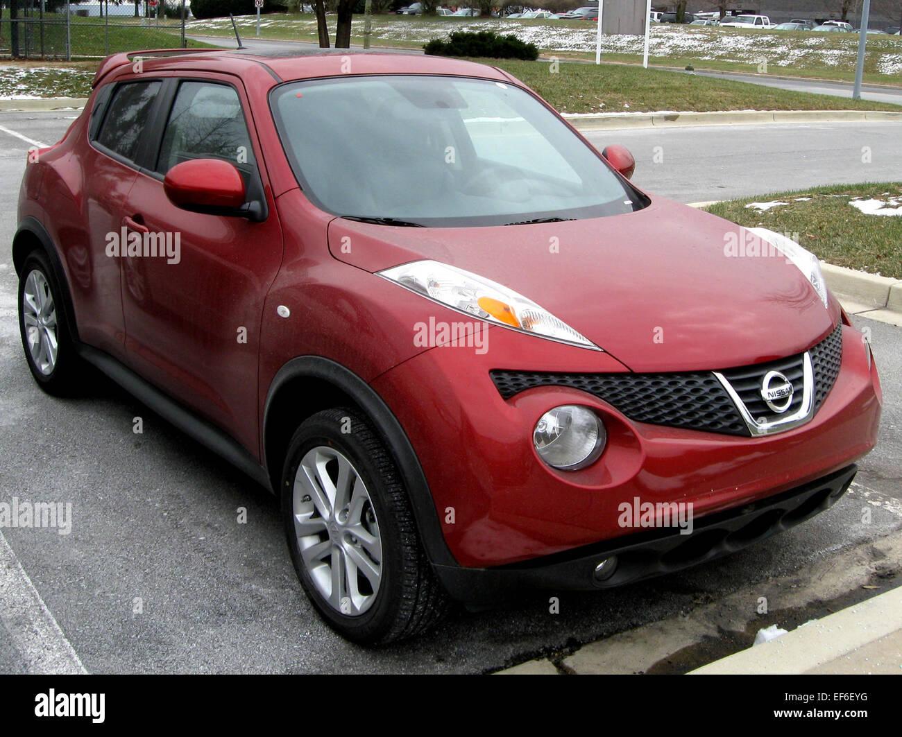 2011 Nissan Juke 12 22 2010   Stock Image