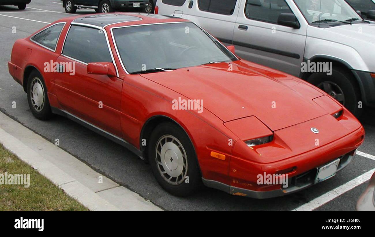 87 89 Nissan 300ZX Stock Photo: 78206352 - Alamy