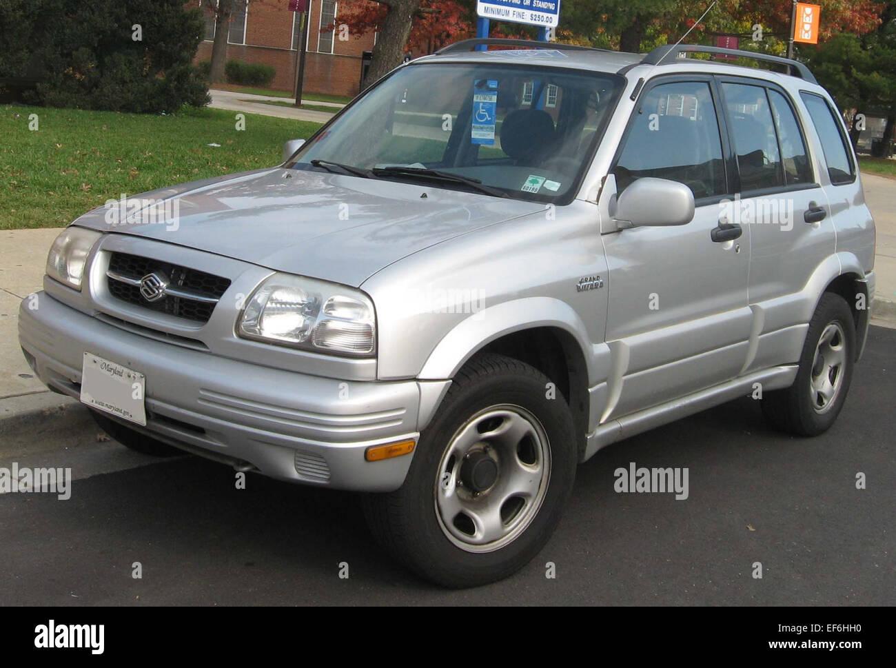 99 01 Suzuki Grand Vitara