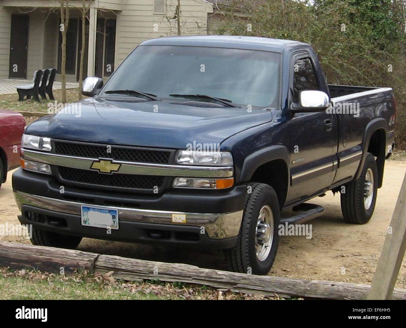 99 02 Chevrolet Silverado 2500 Stock Photo: 78206833 - Alamy
