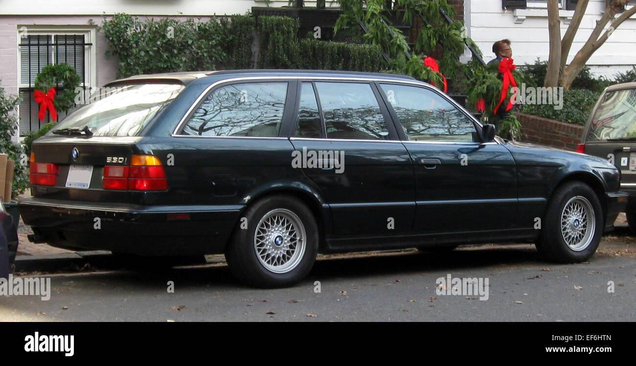 Bmw 530i E34 Wagon 12 15 2011 Stock Photo Alamy