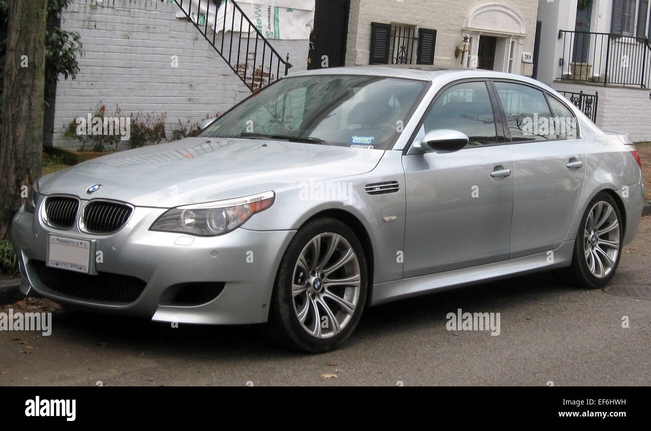 BMW M5    12 14 2011 Stock Photo