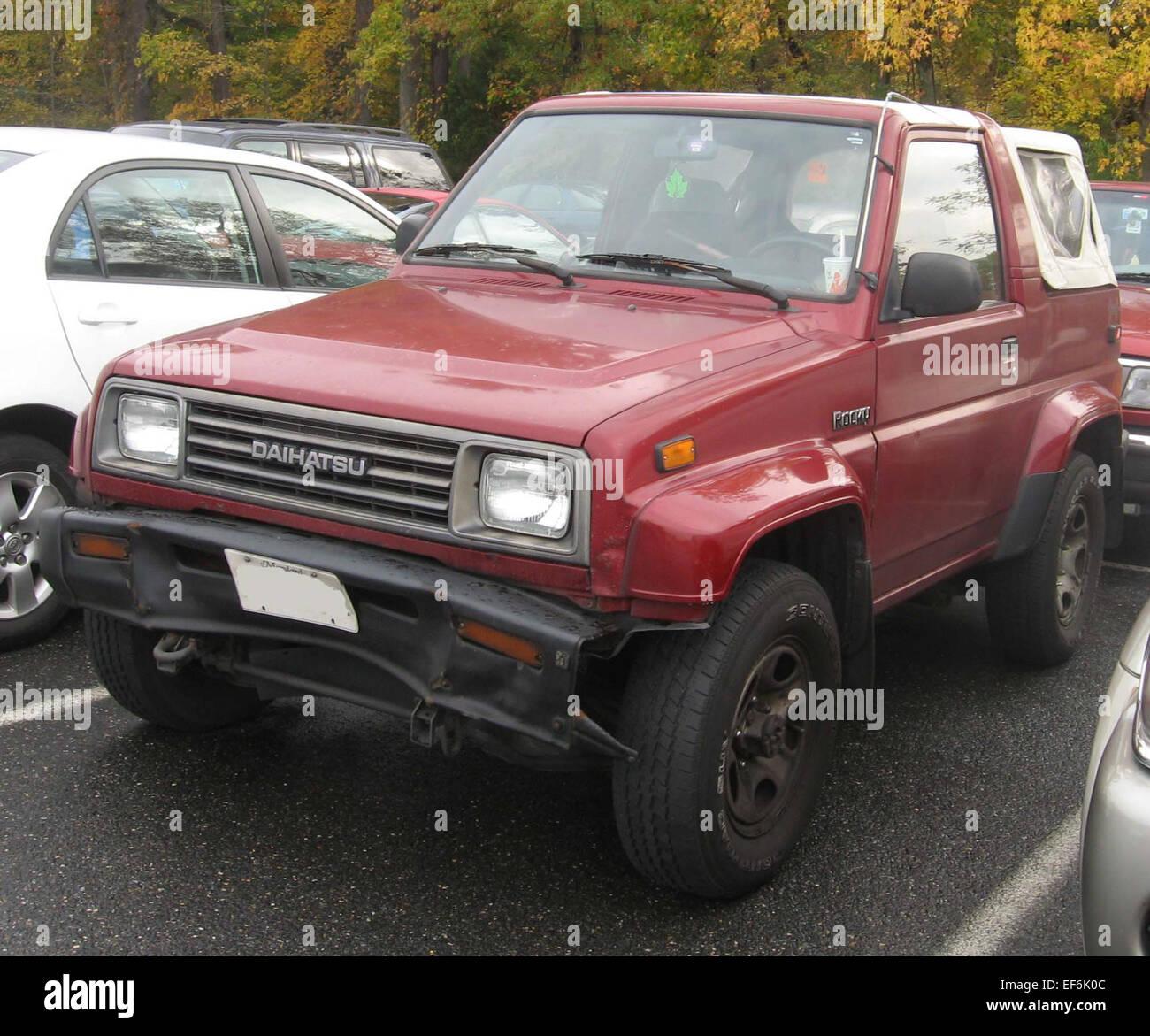 Daihatsu Car Stock Photos & Daihatsu Car Stock Images