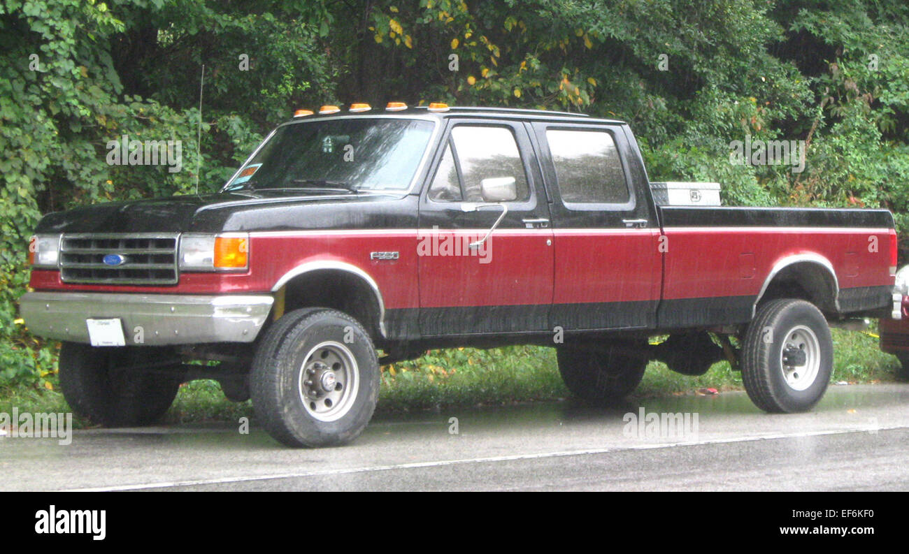 Ford F 350 Stock Photos Images Alamy 1953 Crew Cab 09 26 2009 Image