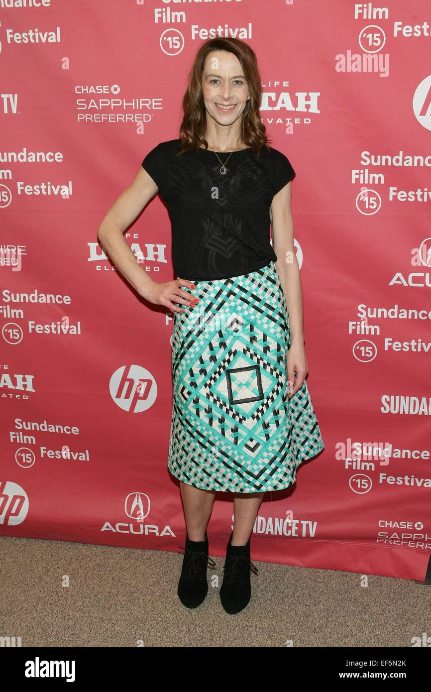Kate Dickie at arrivals for THE WITCH Premiere at the 2015 Sundance Film  Festival, Eccles Center, Park City, UT January 27, 2015. Credit: James  Atoa/Everett ...
