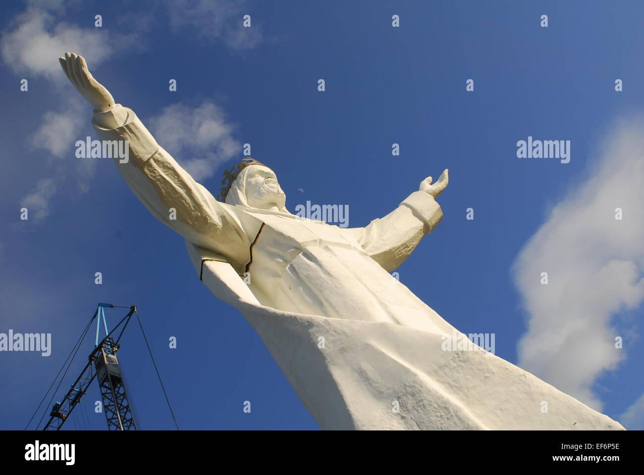 Christ the King Monument, Swiebodzin, Poland Stock Photo