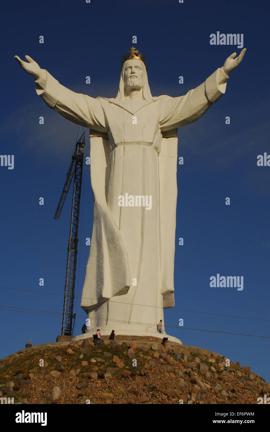 Christ the King Monument, Swiebodzin, Poland Stock Photo