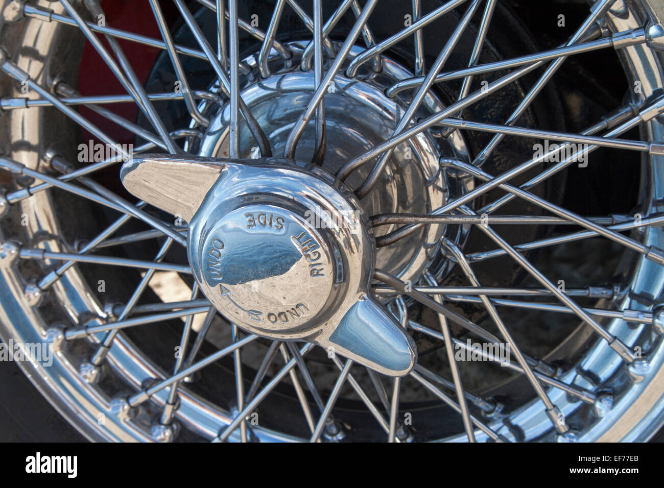 Wire Spoke Wheels Stock Photos & Wire Spoke Wheels Stock Images - Alamy