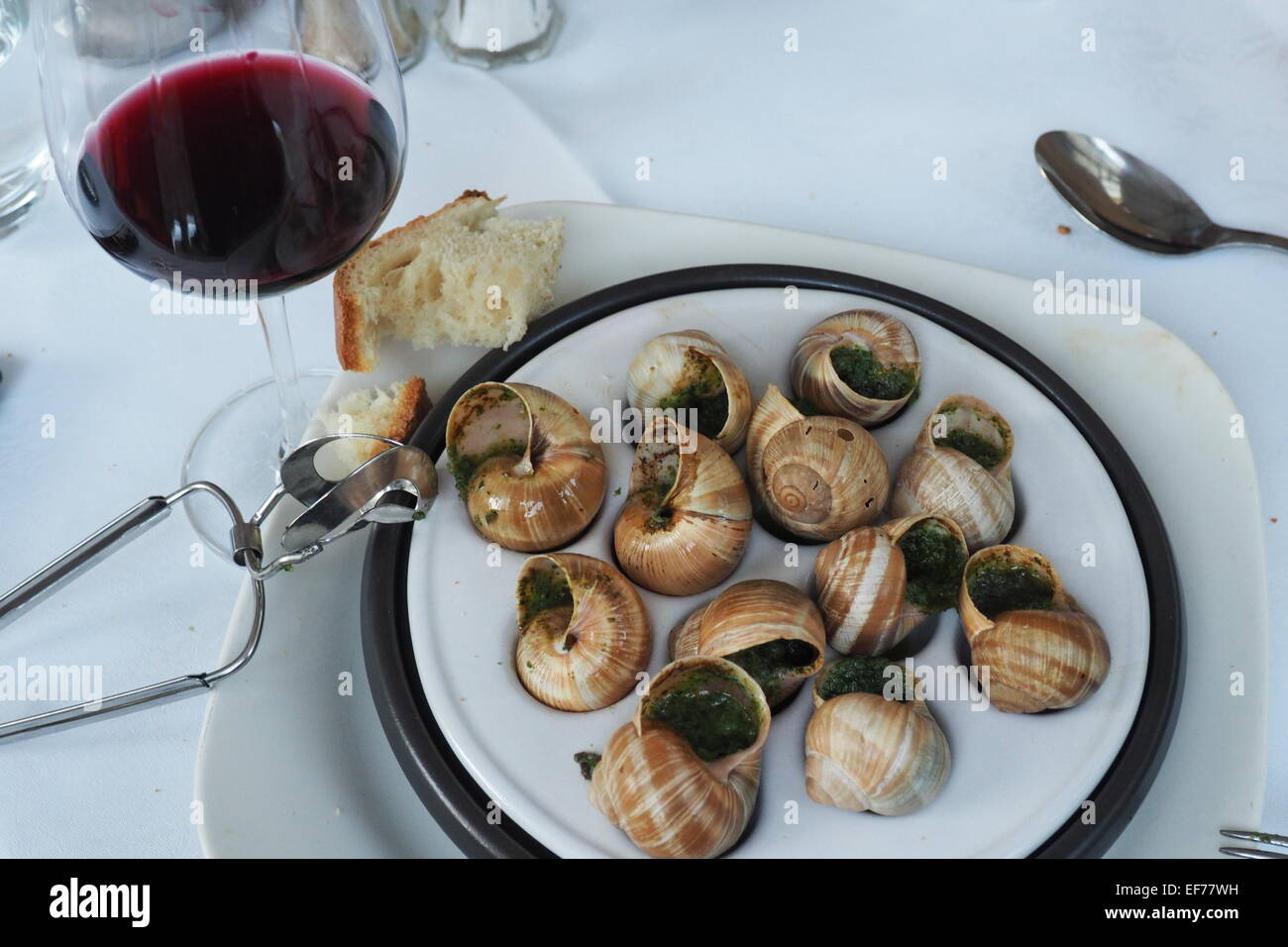 Grape snail: cooking recipe. Snail Food 85
